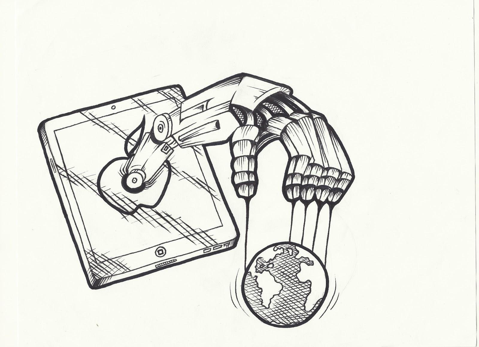 1600x1161 Utopian And Dystopian Elements Of I, Robot Pols241 Political
