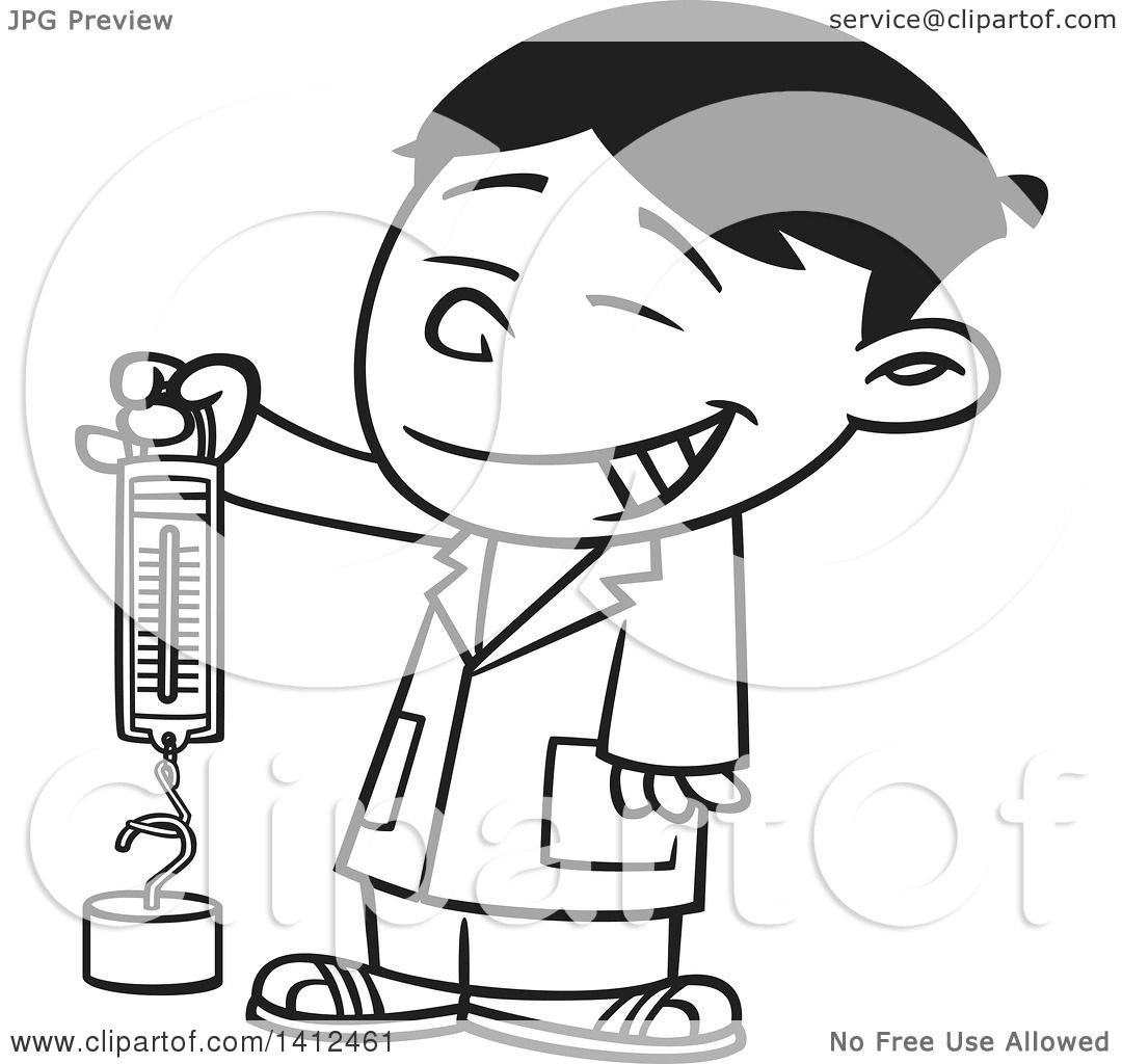 1080x1024 Clipart Of A Cartoon Black And White Lineart Happy Asian School