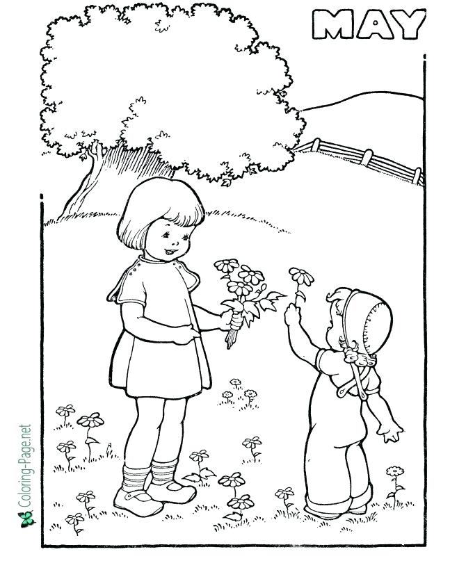 670x820 Coloring Pages For Spring Spring Color Pages Spring Color Pages
