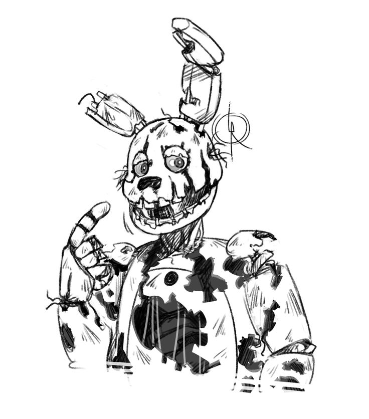 Springtrap Drawing