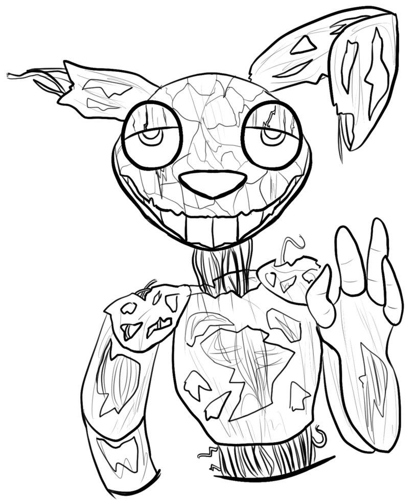 816x979 Spring Trap Doodle By Savamoth