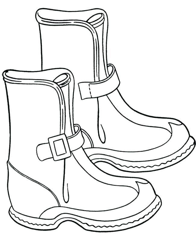 650x796 Cowboy Boot Coloring Page Click The Cowboy Boot With Spur Coloring