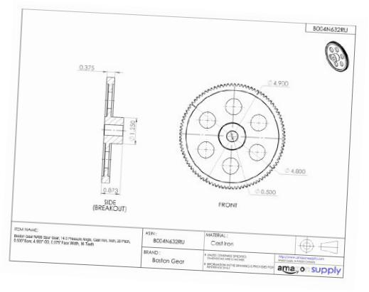 Spur Gear Drawing at GetDrawings com | Free for personal use
