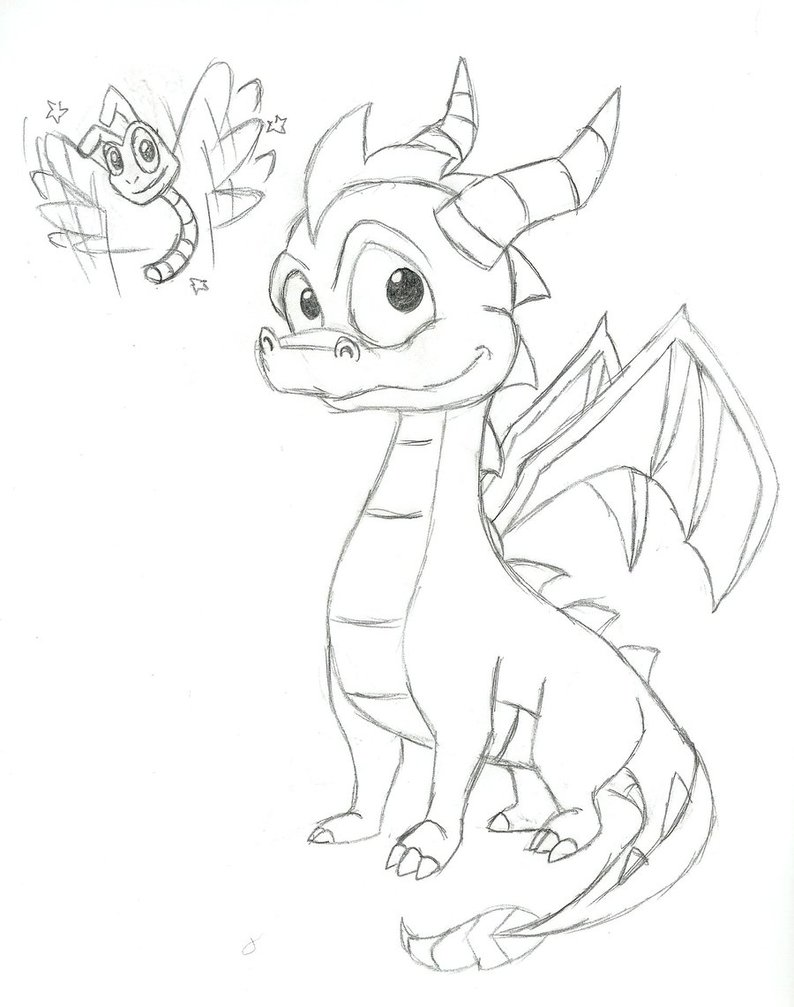 794x1007 Playstation Heroes Spyro The Dragon And Sparxs By Yoshiboy64