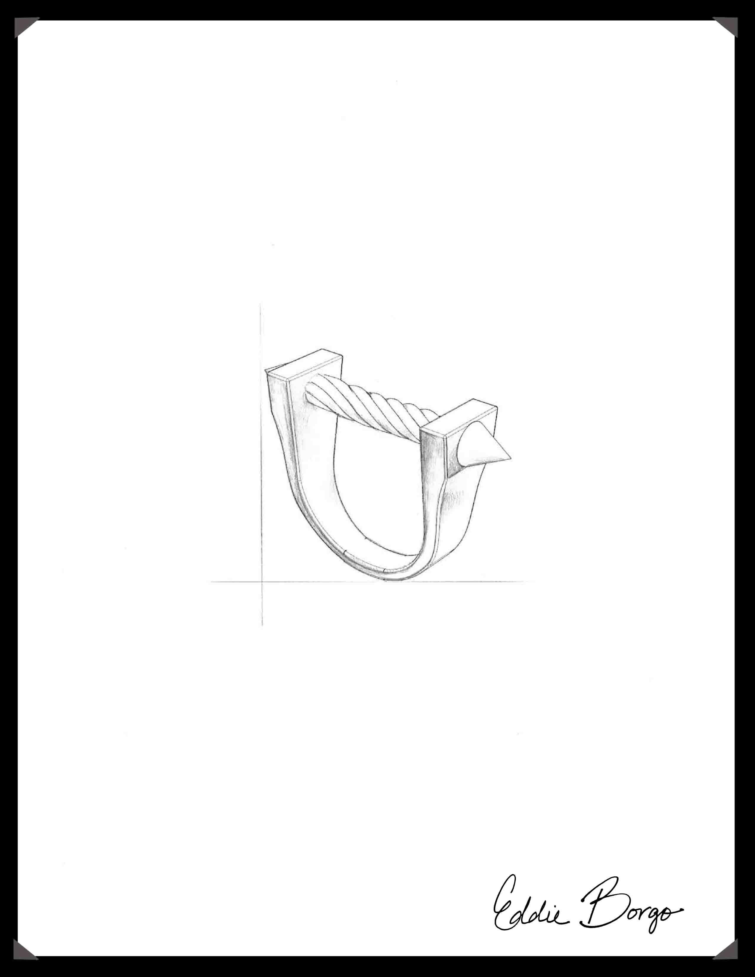 2550x3300 Eddieborgo Men Designer Sketch Equestrian Bit Ring