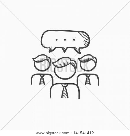 450x470 People Speech Square Above Their Vector Amp Photo Bigstock