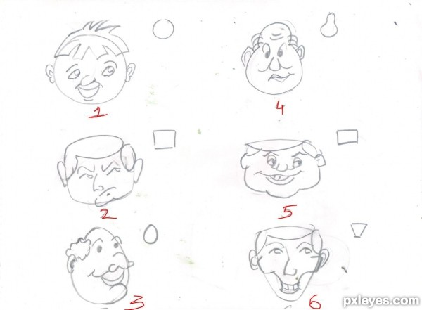 600x441 Simple Tricks To Draw Your Own Cartoons