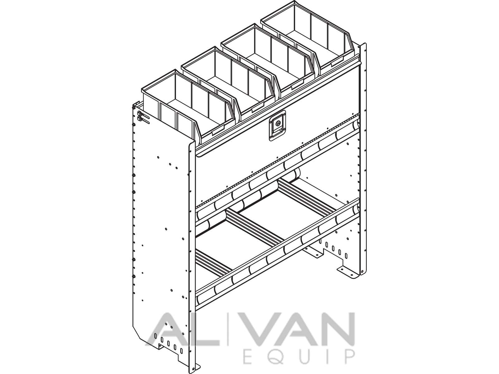 1600x1200 Square Back Van Storage Bins H38 R Line Drawing Al Van Equip