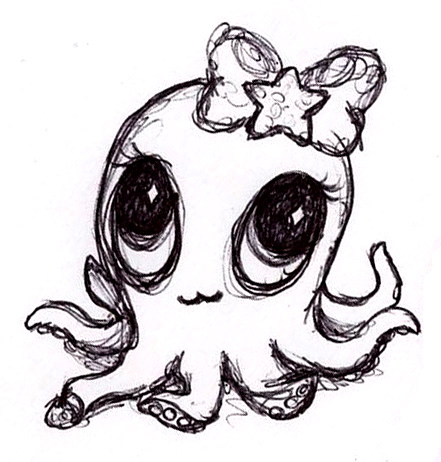 441x462 Baby Squid By Curious Squid