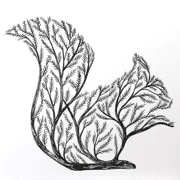 580x580 Squirrel Tree Tattoo Design Tree Tattoo Designs, Tattoo Designs