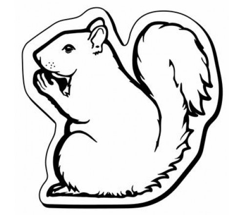 Squirrel Outline Drawing