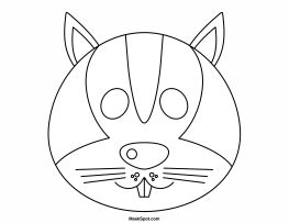 Squirrel Outline Drawing At Getdrawings Com Free For Personal Use