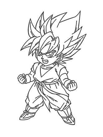 Ssj Goku Drawing