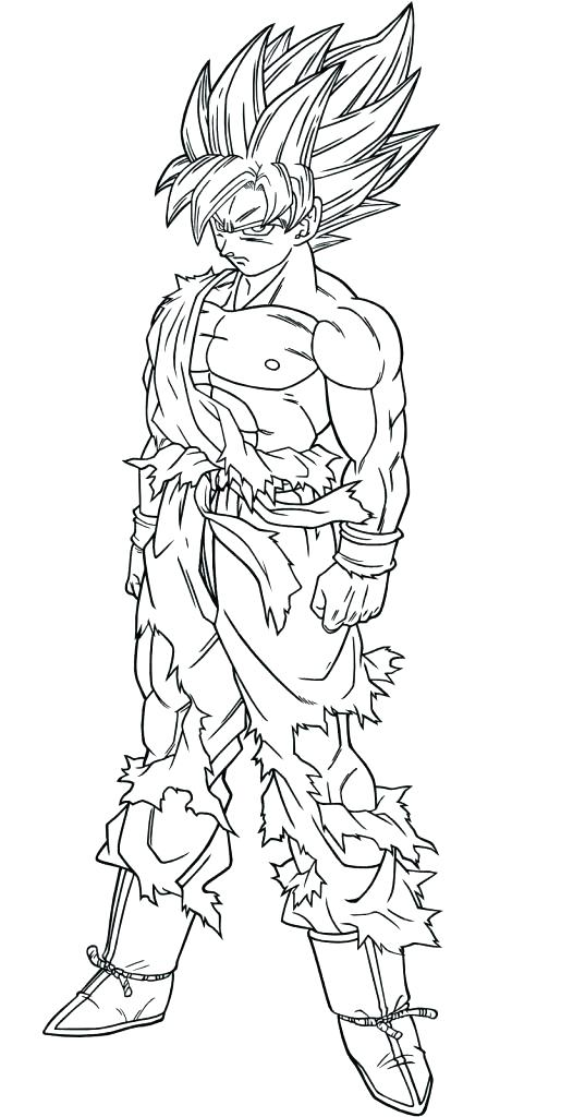 537x1024 Goku Ssj Coloring Pages Coloring Book And Medium Size Of Drawings