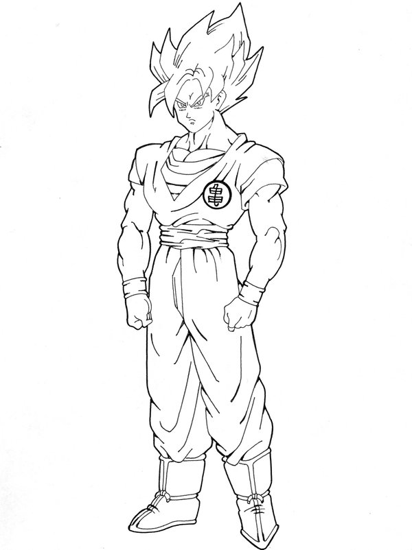 600x802 super saiyan ii by nes44nes on deviantart