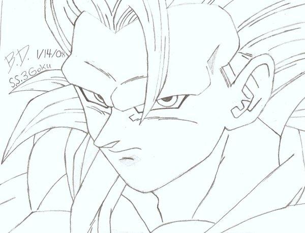 600x460 How To Draw Dragon Ball Z Super Saiyan How To Draw Dragon Ball Z