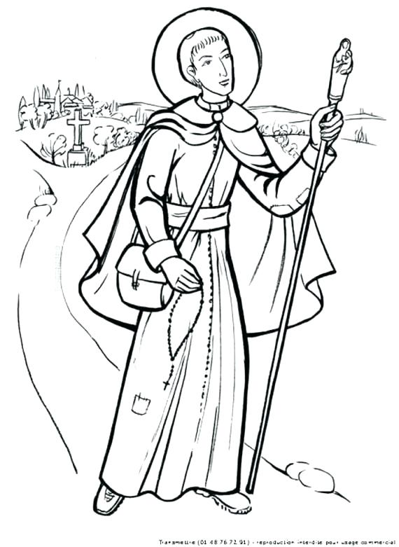 570x781 St Francis Coloring Page St Of Coloring Page St Of Coloring Page