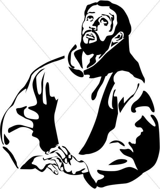 518x612 St. Francis Of Assisi Clipart New Testament Clipart