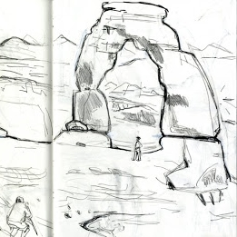 261x261 Delicate Arch Drawings D.b. Dowd Studio Notes Writing
