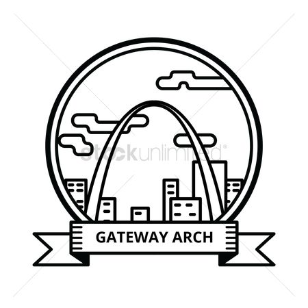 450x450 Free Gateway Arch Stock Vectors Stockunlimited