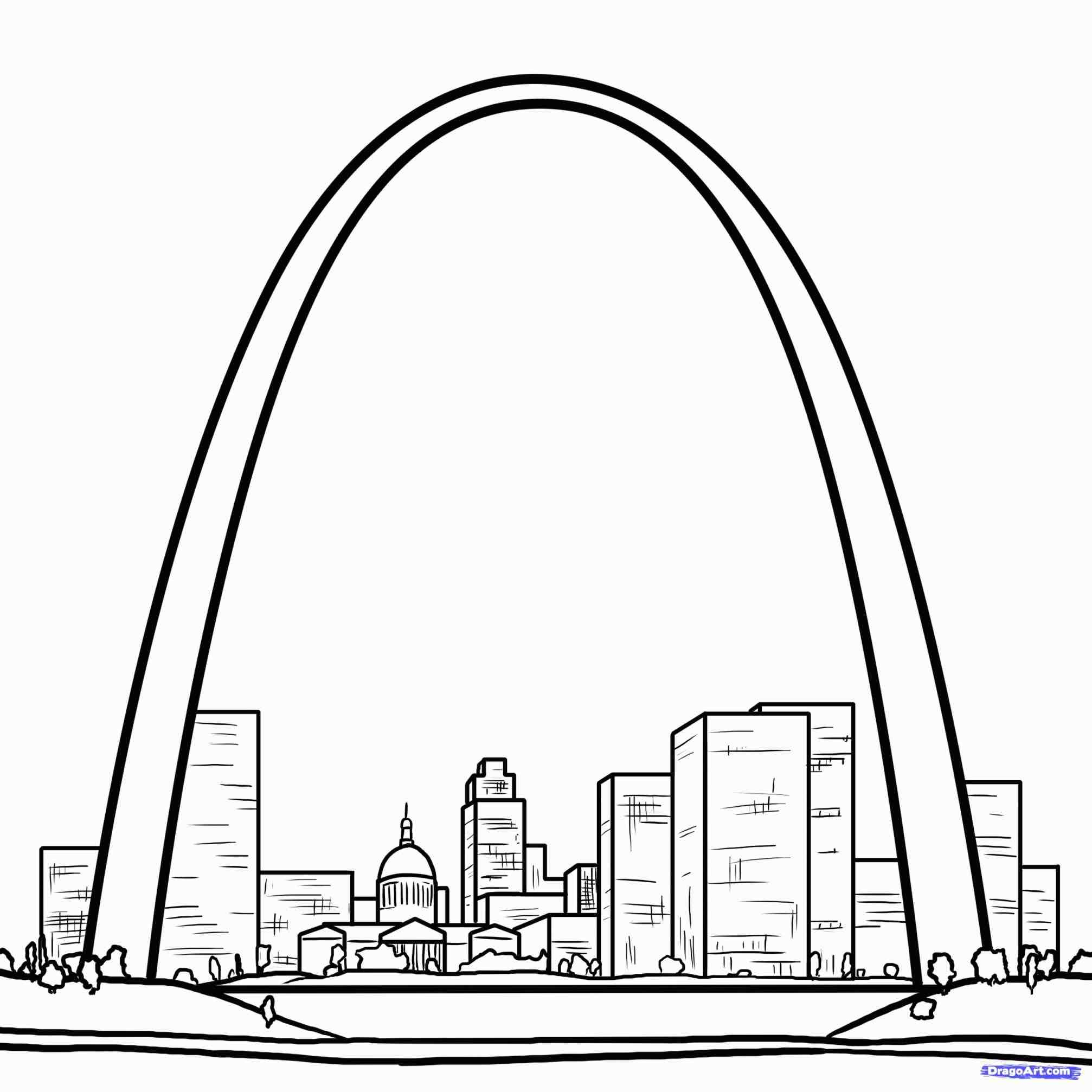 2014x2014 How Arched Window Template To Draw The Gateway Arch Step By Arched