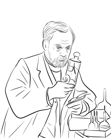 386x480 Louis Pasteur Coloring Page Free Printable Coloring Pages