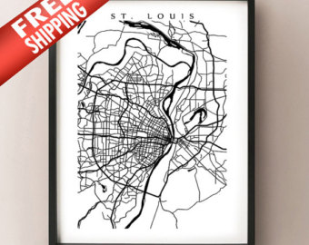 340x270 St Louis Arch Print Etsy