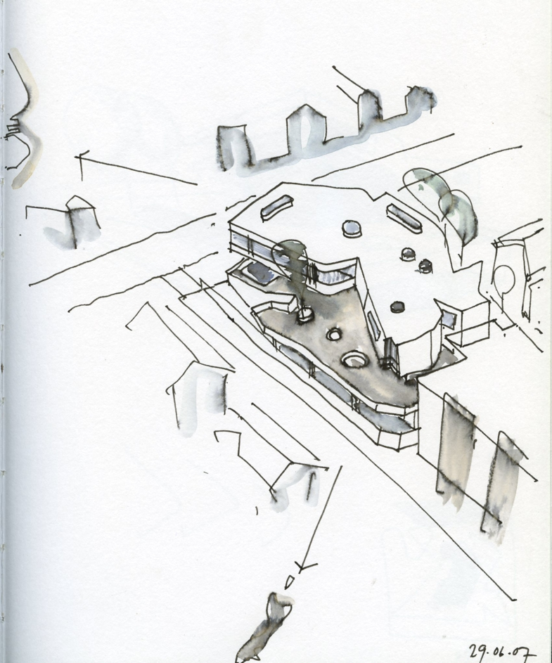 785x943 Iredale Pedersen Hook Arch Drawing Sketches