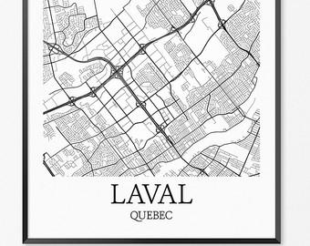 340x270 St. Louis Map Art Print St. Louis Poster Map Of St. Louis