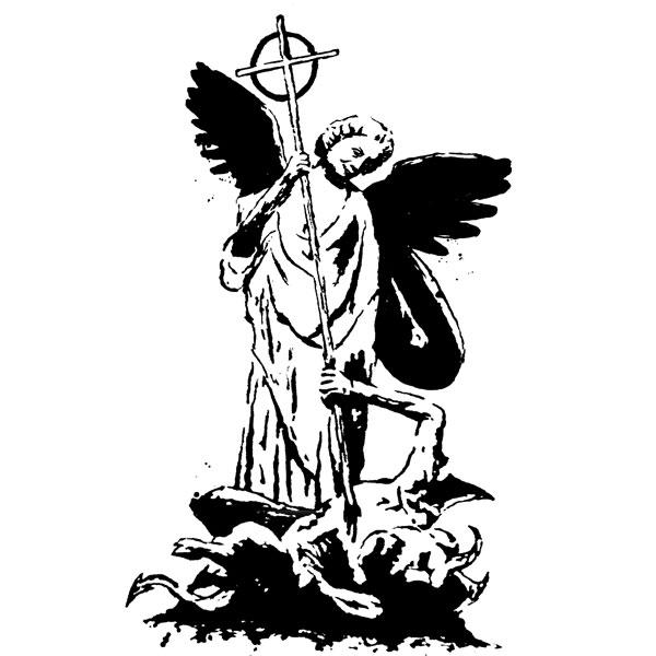 600x600 Archangel Tattoo Designs