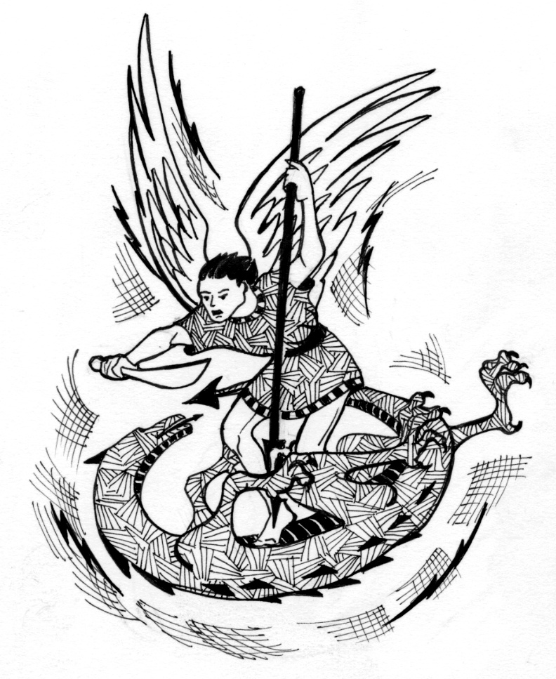 792x967 Saint Michael The Archangel Saint Mary's Press