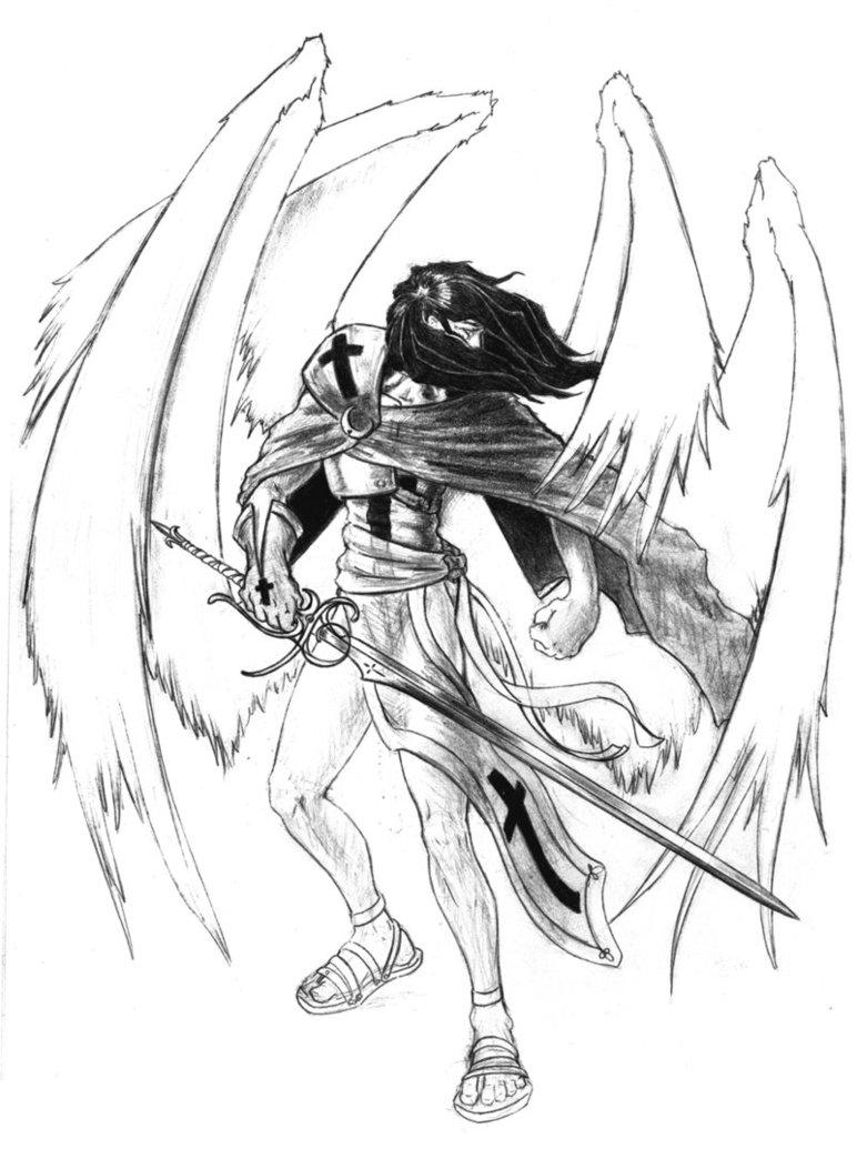772x1035 Archangel Michael By A Nessessary Studio