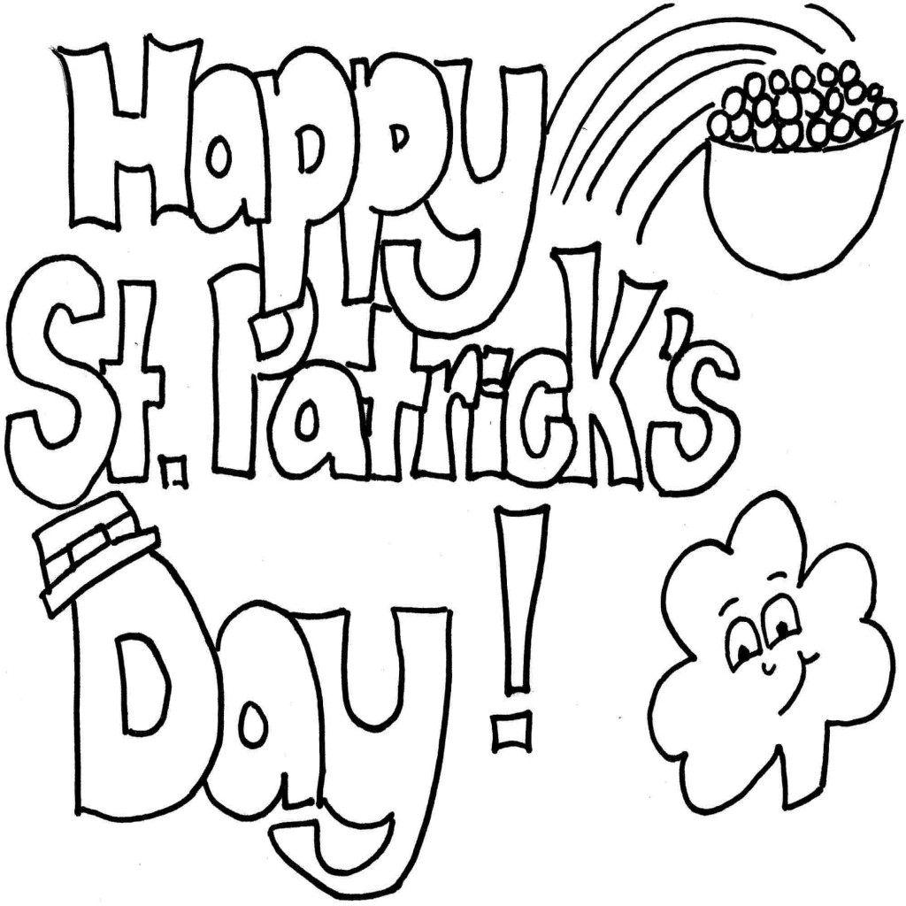 1024x1024 Nice St Patricks Day Drawings Design Ideas