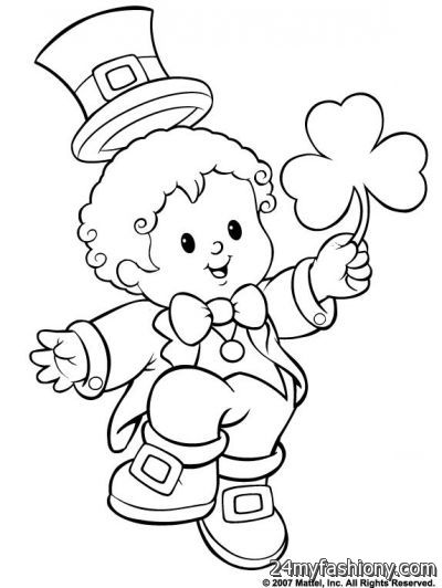 400x532 St. Patrick's Day Coloring Pages Images 2016 2017 B2b Fashion