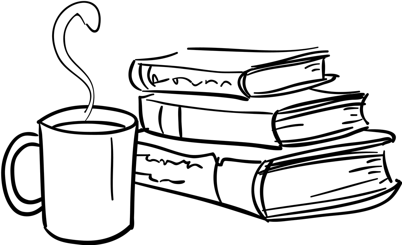 Book Cover Black And White Clipart ~ Stack of books drawing at getdrawings free for personal use