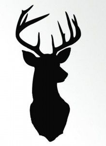 219x300 Reindeer Head Outline Clipart