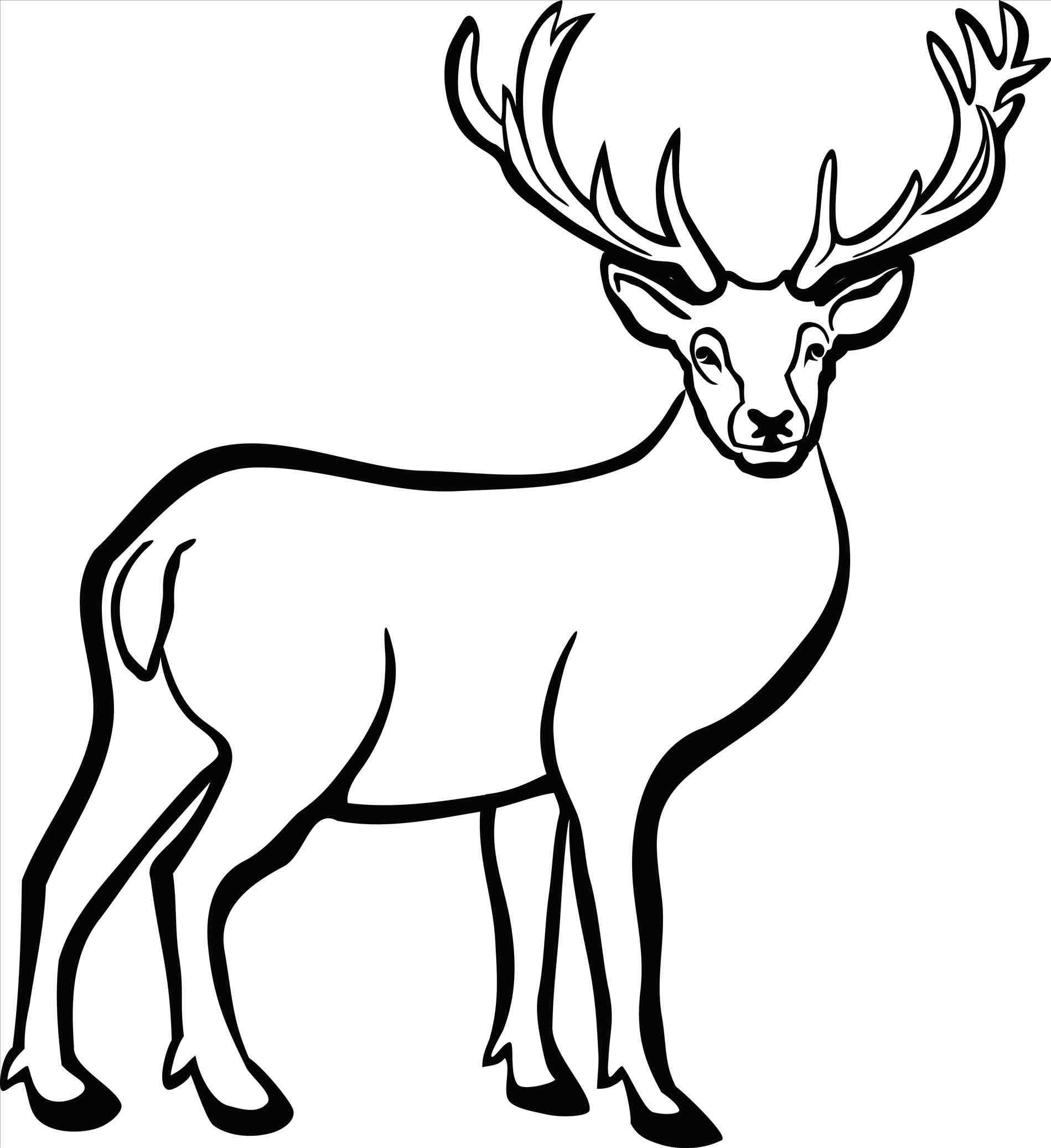 stag head drawing at getdrawings com free for personal reindeer antlers and ears clipart free reindeer antlers clipart
