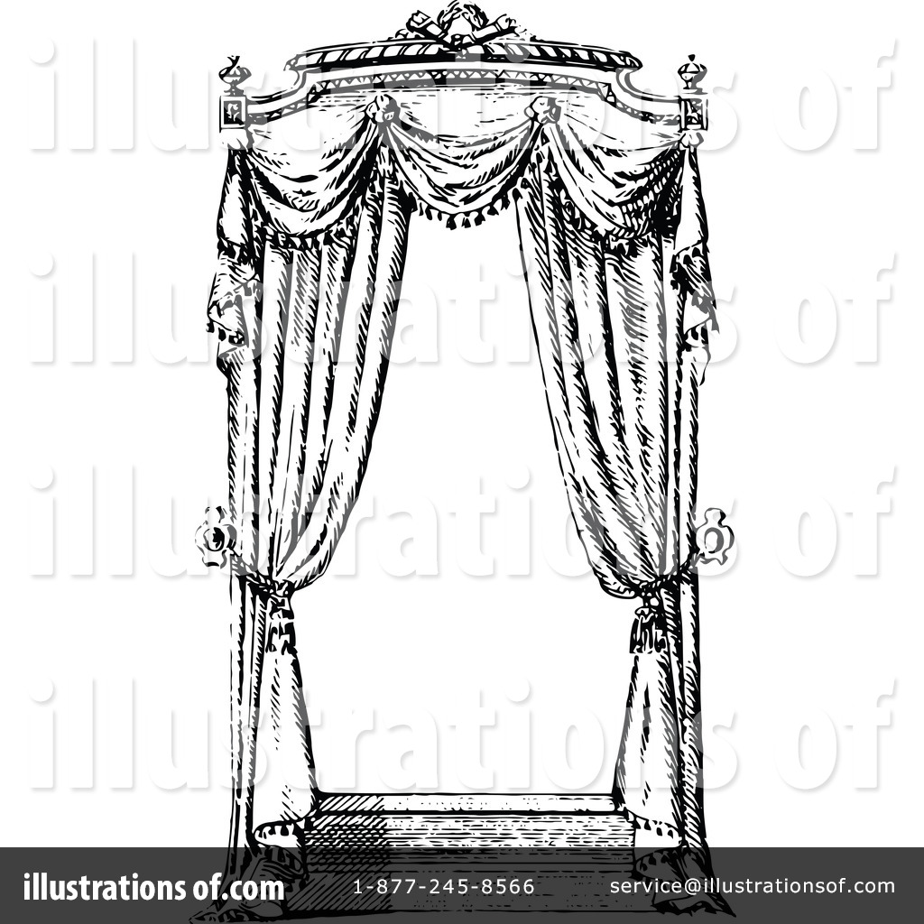 1024x1024 Theater Curtains Drawing