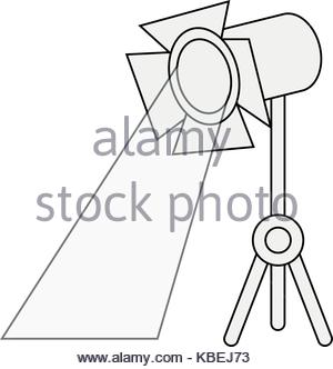 300x332 Stage Light Icon Image Stock Vector Art Amp Illustration, Vector