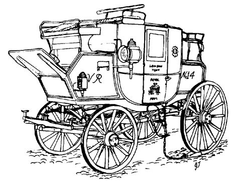 474x368 In Its Day The Mail Coach Was The Aristocrat Of The Road, And All