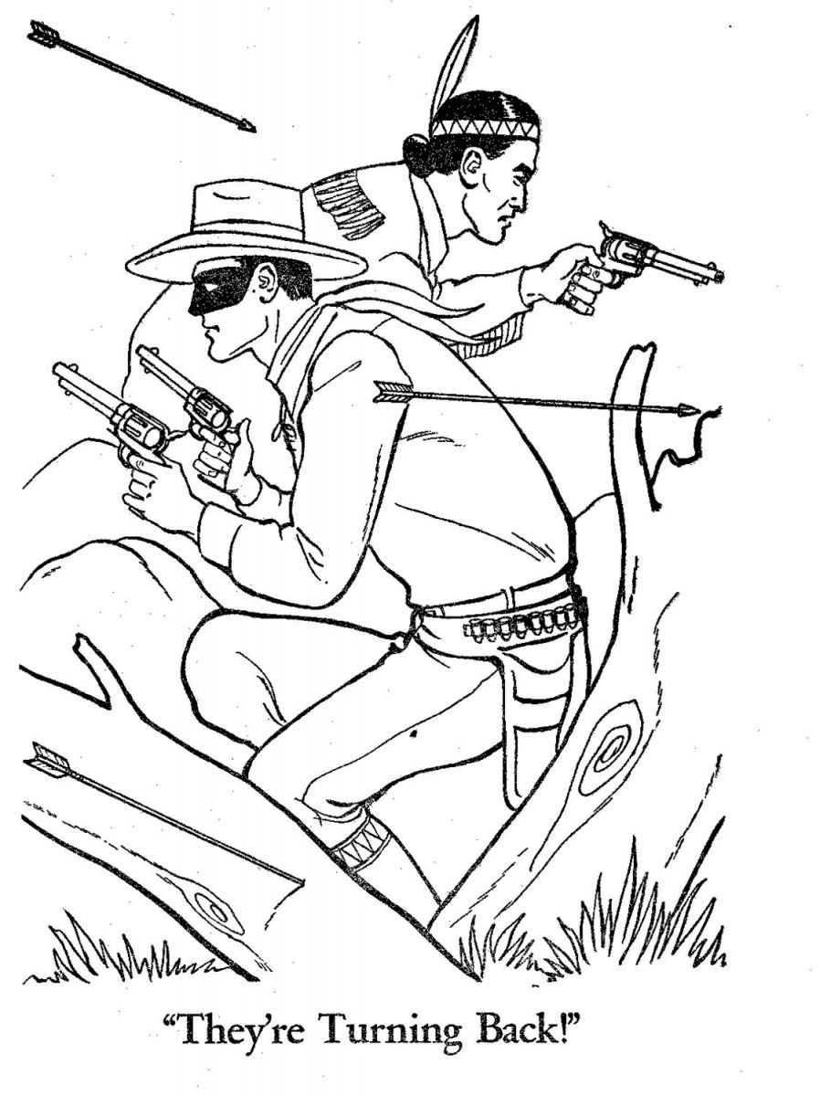 898x1200 The Lone Ranger coloring pages