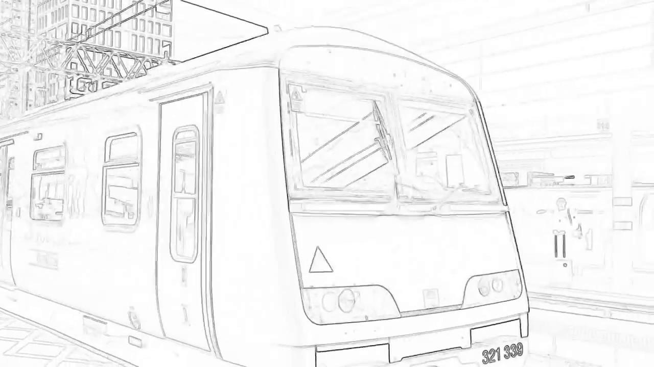 1280x720 Trains At London Stratford