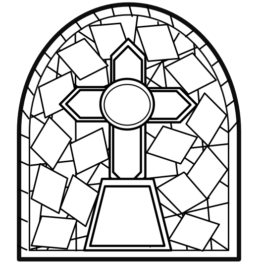 525x530 Stained Glass Drawing Stained Glass Drawing Tutorial