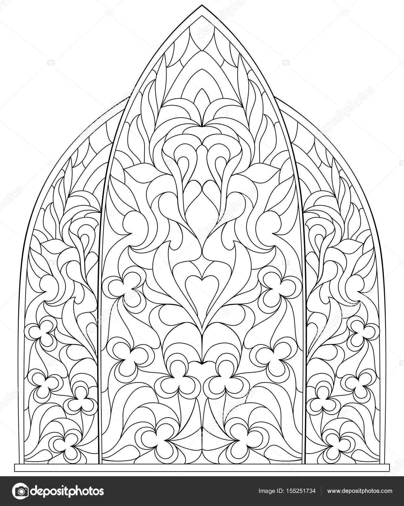 1355x1700 Black And White Page For Coloring. Fantasy Drawing Of Beautiful