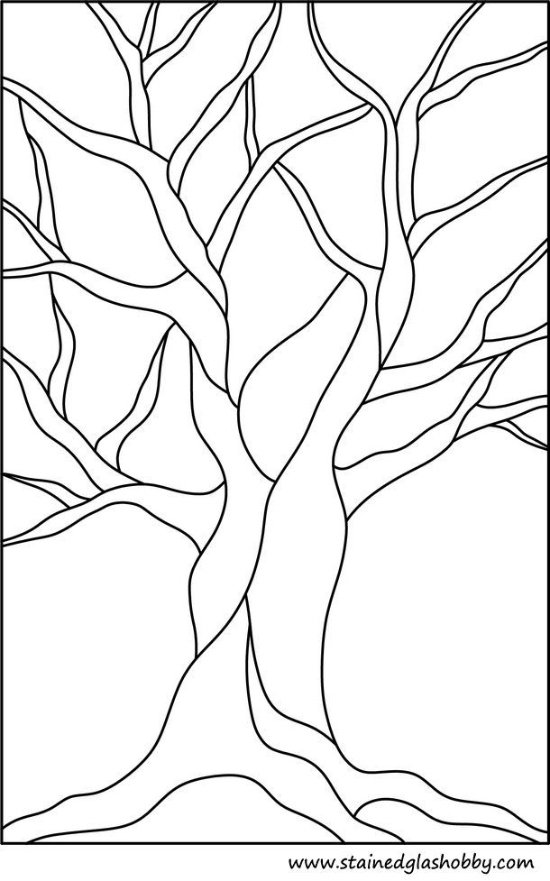 610x977 Tree Of Life Drawing Stained Glass