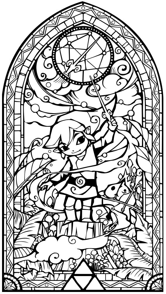 Stained Glass Window Drawing at GetDrawingscom Free for personal