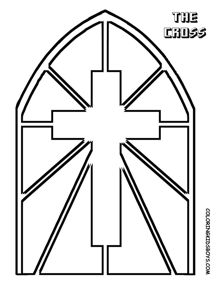 Stained Glass Window Drawing at GetDrawings.com | Free for personal ...