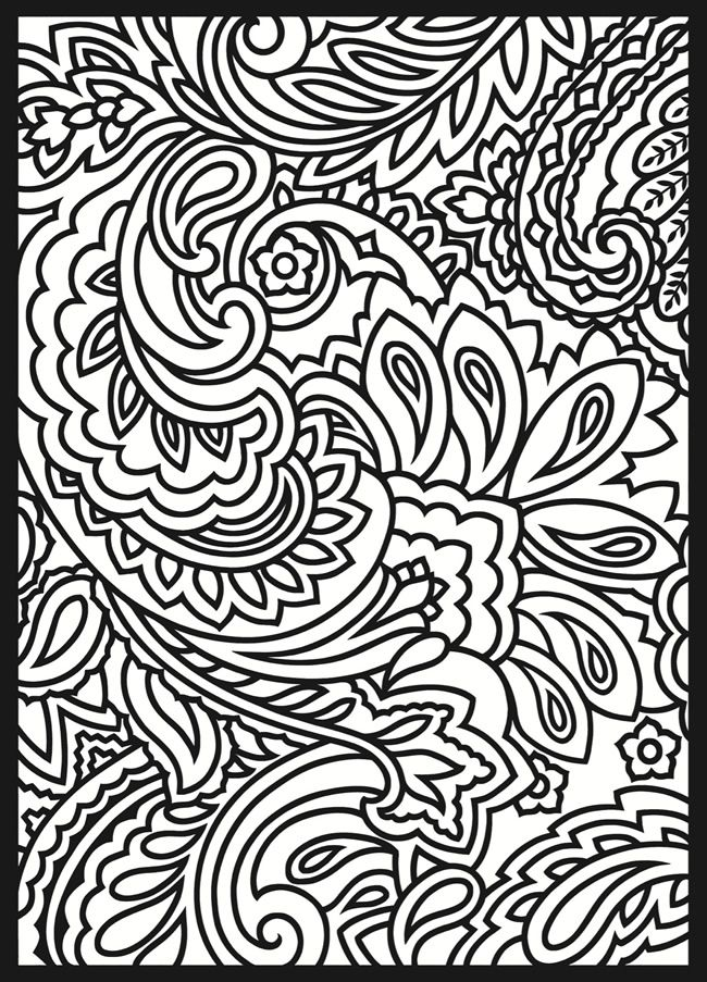 650x903 Printable Stained Glass Window Coloring Page