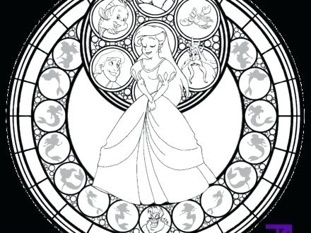 440x330 Stained Glass Window Coloring Page Stained Glass Window Coloring