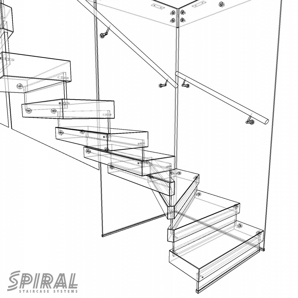 1022x1024 Preview Sketches Of The New Magnolia Barn Staircase.